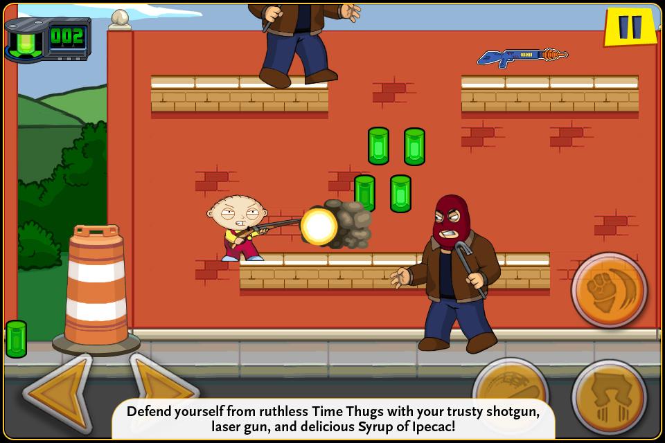 Family Guy Time Warped Lite screenshot 2